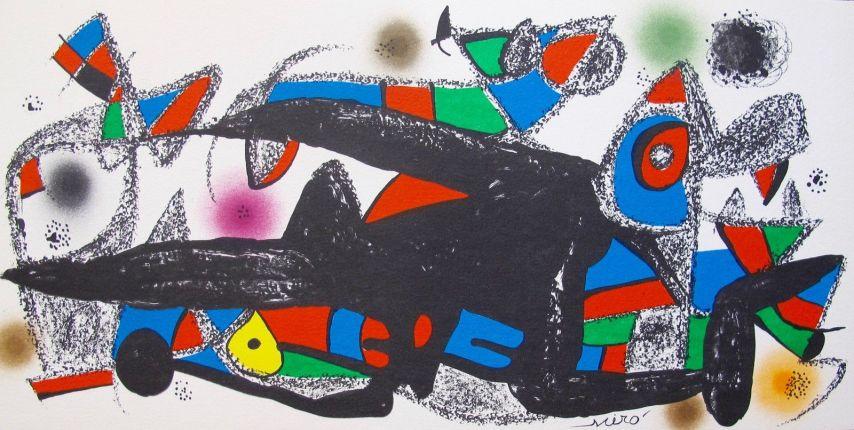Joan Miro ESCULTOR SUITE DENMARK Lithograph