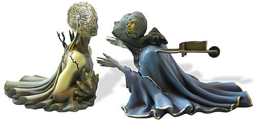 Salvador Dali TRISTAN AND ISOLDE Sculpture