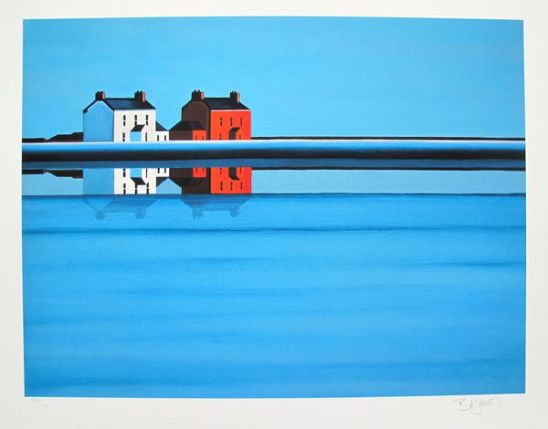 Barbara James UPON REFLECTIONS Hand Signed Limited Ed. Giclee