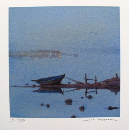 Ged Mitchell END OF THE DAY Hand Signed Limited Edition Giclee