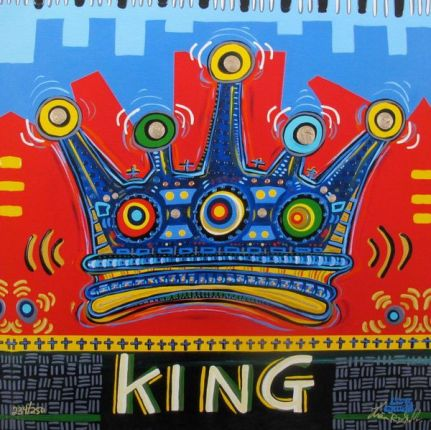 "LISA GRUBB ""KINGS CROWN"" Hand Signed Limited Edition Giclee on Canvas"