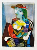 #12 PORTRAIT OF MARIE THERESE WALTER Picasso Estate Signed Giclée