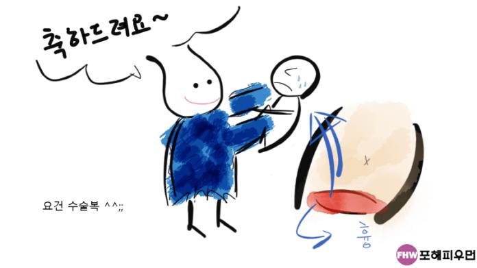 임신준비-임신36주-제왕절개-직접그림
