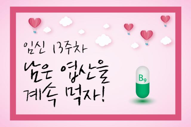 임·준·출 – 16화, 남은 엽산을 계속 먹자 (임신 13주)3 min read