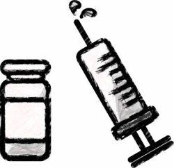syringe, vaccination, 인플루엔자 백신