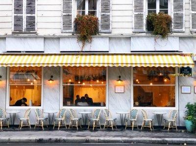 파리 카페 거리