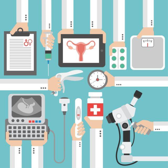 산부인과 검진 초음파 내시경 자궁확대경