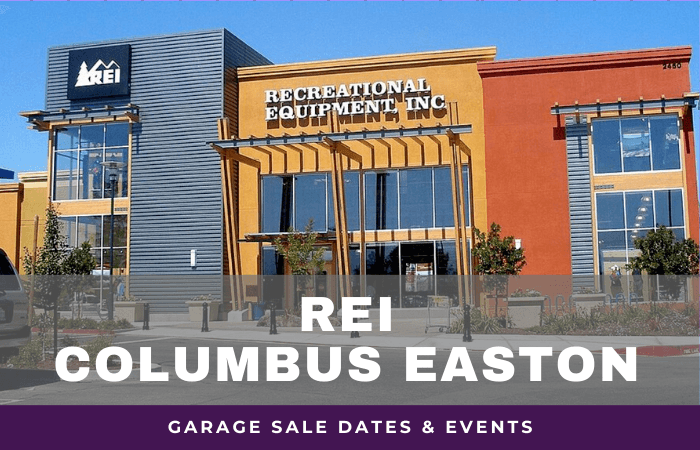 REI Columbus Easton Garage Sale Dates, rei garage sale columbus easton