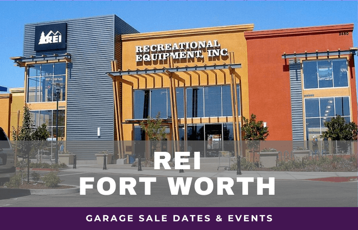 REI Fort Worth Garage Sale Dates, rei garage sale fort worth texas