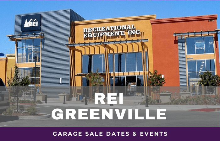 REI Greenville Garage Sale Dates, rei garage sale greenville south carolina