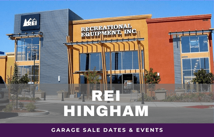 REI Hingham Garage Sale Dates, rei garage sale hingham