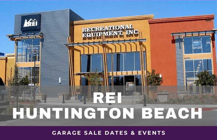 REI Huntington Beach Garage Sale Dates, rei garage sale huntington beach