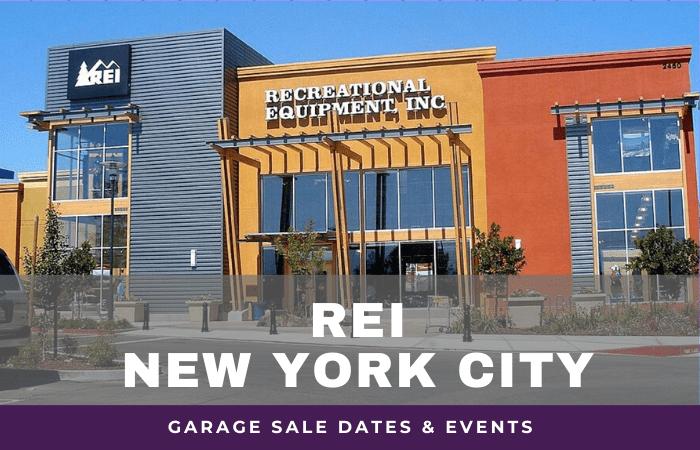 REI NYC Garage Sale Dates, rei garage sale nyc new york