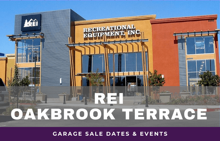 REI Oakbrook Terrace Garage Sale Dates, rei garage sale oakbrook illinois