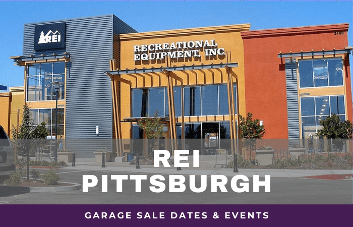 REI Pittsburgh Garage Sale Dates, rei garage sale Pittsburgh Pennsylvanian