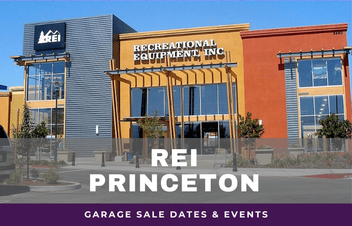 REI Princeton Garage Sale Dates, rei garage sale princeton new jersey