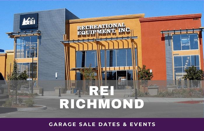 REI Richmond Garage Sale Dates, rei garage sale richmond virginia
