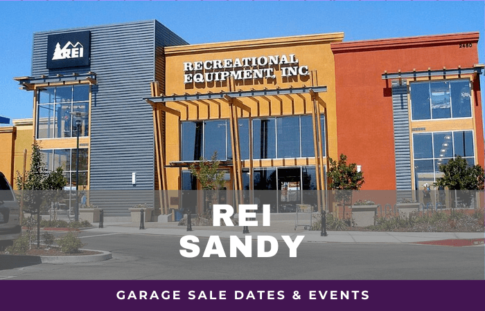 REI Sandy Garage Sale Dates, rei garage sale sandy utah