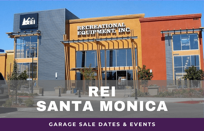 REI Santa Monica Garage Sale Dates, rei garage sale santa monica california