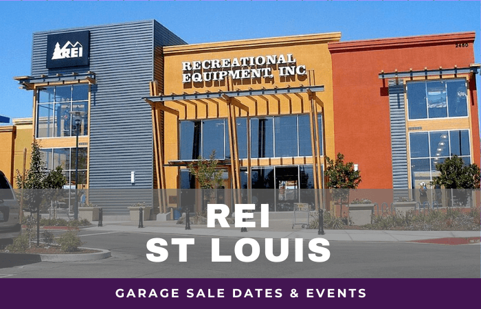 REI St Louis Garage Sale Dates, rei garage sale st louis missouri