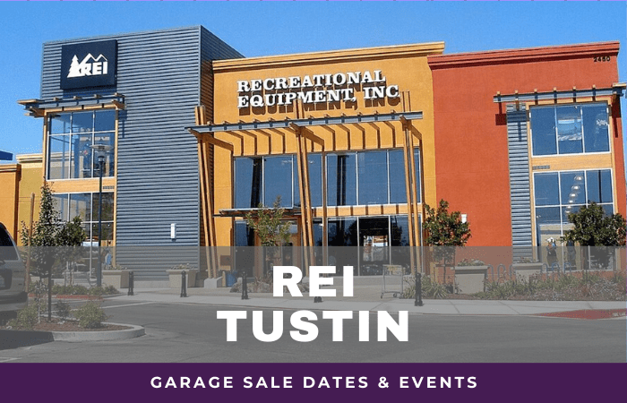 REI Tustin Garage Sale Dates, rei garage sale tustin california