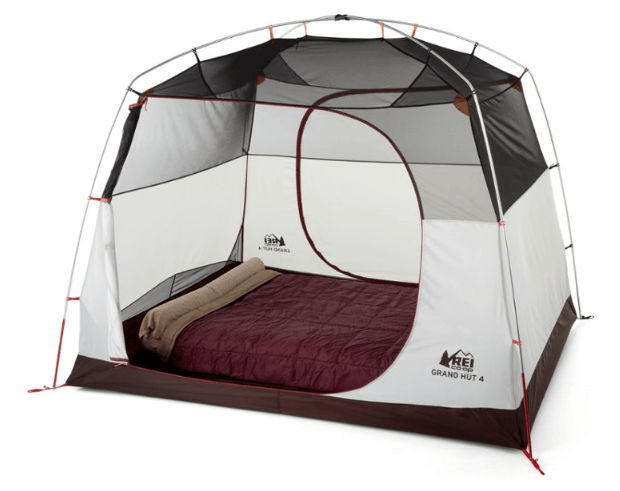 REI CO-OP Grand Hut 4 Tent, REI GRAND HUT 6 TENT