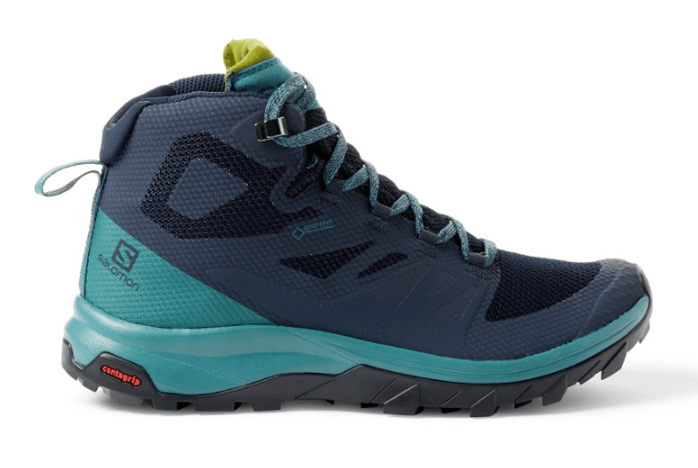 salomon outline mid womens hiking shoe