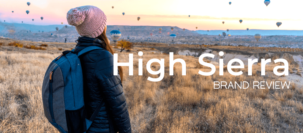 High Sierra Backpack brand review