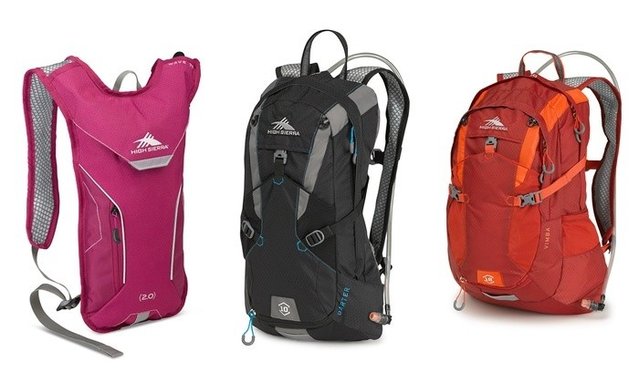 High sierra backpack daypacks hydration