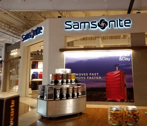 Samsonite outlet store locations