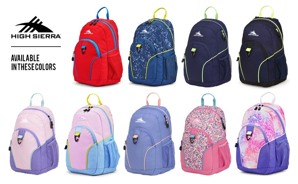 high sierrra backpack school bags