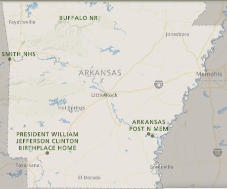 Best National Parks in Arkansas, Arkansas National Parks, National Parks Arkansas, how many national parks in Arkansas, Arkansas national parks map, map of Arkansas National parks, list of national parks in Arkansas