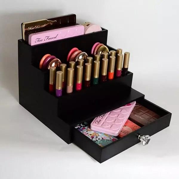 tiered multi purpose makeup organizer