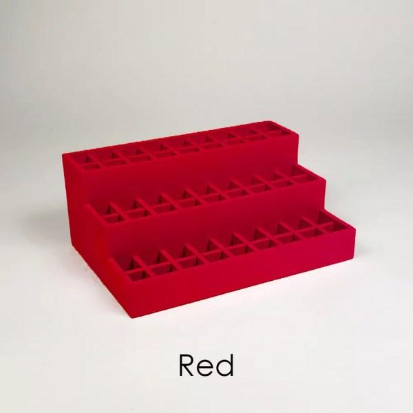 Mini Lipstick Organizer in Red