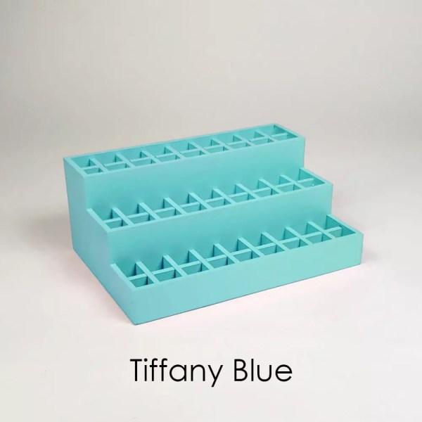 Mini Lipstick Organizer in Tiffany Blue