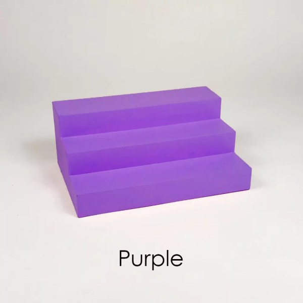 Mini Perfume Display Organizer in Purple