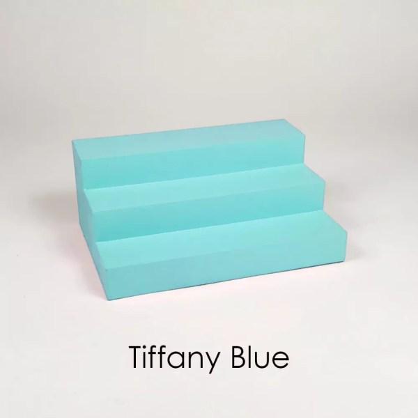 Mini Perfume Display Organizer in Tiffany Blue