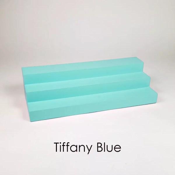 Large Perfume Display Organizer in Tiffany Blue