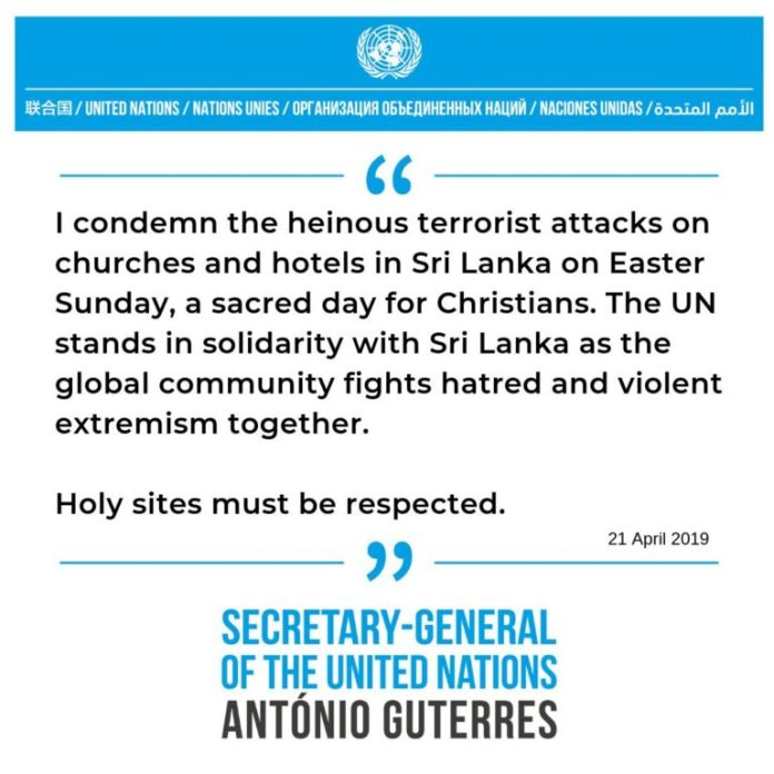, Latest in the Sri Lanka wave of terror: Holy Sites must be respected, For Immediate Release | Official News Wire for the Travel Industry