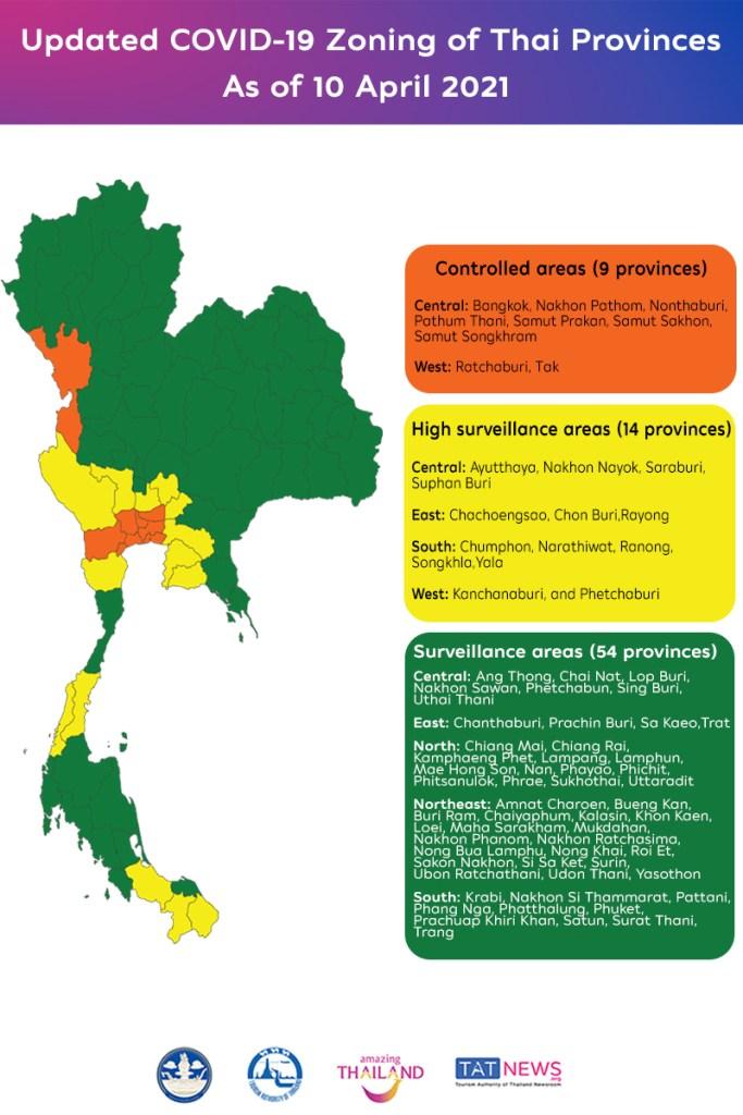 Bangkok and 40 Thai provinces to close entertainment venues during Songkran