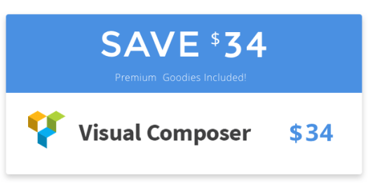 With ForIT WordPress theme you save $34