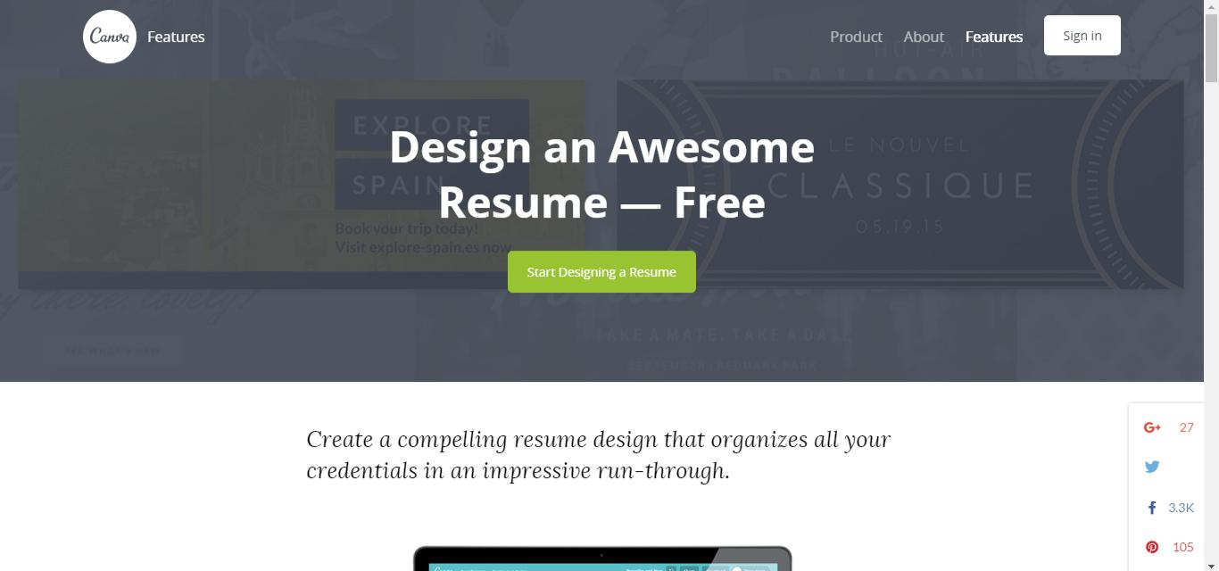 сайтове за създаване на CV