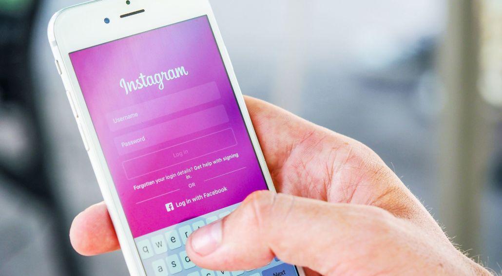 Instagram при търсене на работа