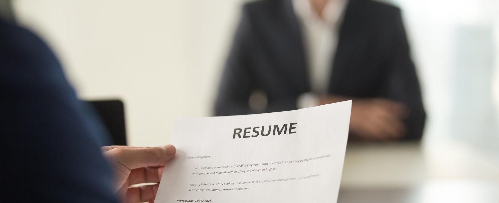 адаптирай информацията към нуждите на работодателя