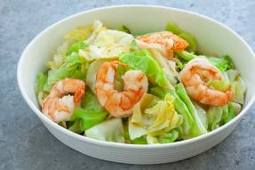 shrimp-sauteed-cabbage
