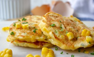 Healthy Corn Fritters