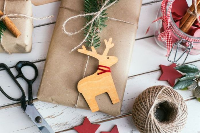 christmas diy reindeer craft materials