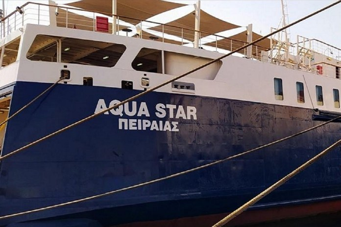 Μηχανική-βλάβη-στο-επιβατηγό-οχηματαγωγό-πλοίο-«aqua-star»