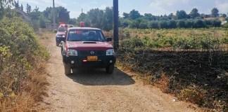 Άμεση-επέμβαση-της-Εθελοντικής-Ομάδας-Αντιμετώπισης-Καταστροφών-Αρτέμιδος-σε-φωτιά-στα-Σπάτα-(φωτό)