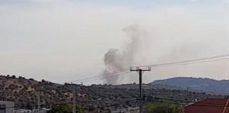Φωτιά-στην-Κερατέα:-Κοντά-σε-σπίτια-οι-φλόγες-–-Κλιμάκιο-του-τμήματος-Εμπρησμών-στο-σημείο